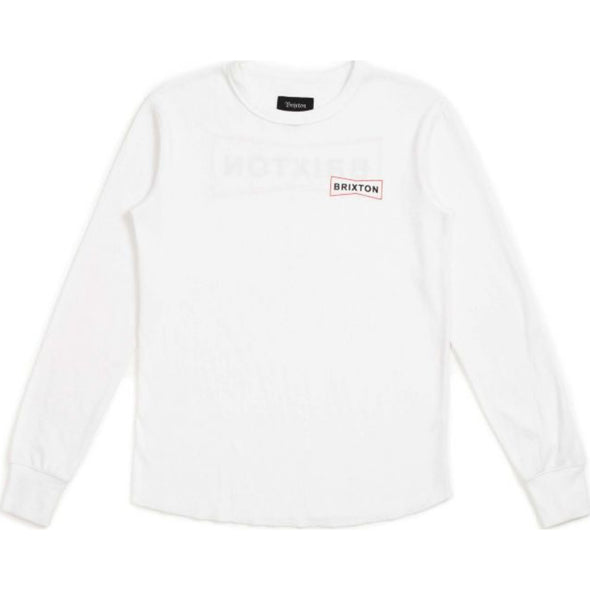 WEDGE L/S KNIT - WHITE