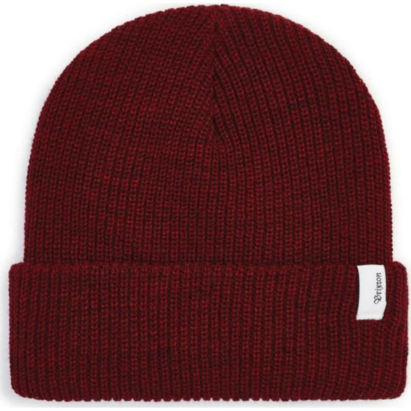 BIRCH BEANIE - HEATHER BURGUNDY