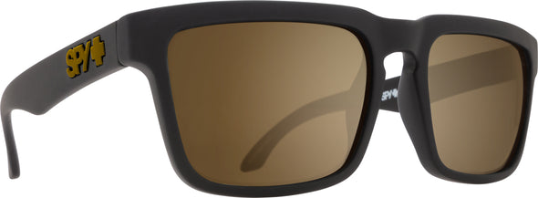 Helm Af Soft Matte Black-Happy Bronze W/Gold Mirror