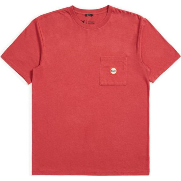 Gate III S/S Pocket - Lava Red