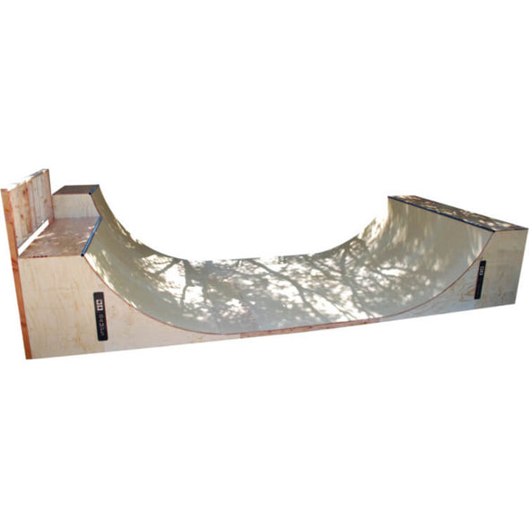 5Ft Tall Half Pipe + Extension