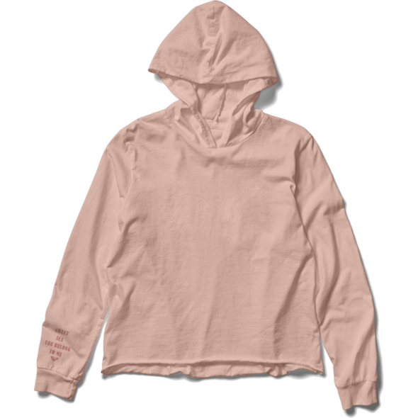 CHOPPED CROPPED HOODIE
