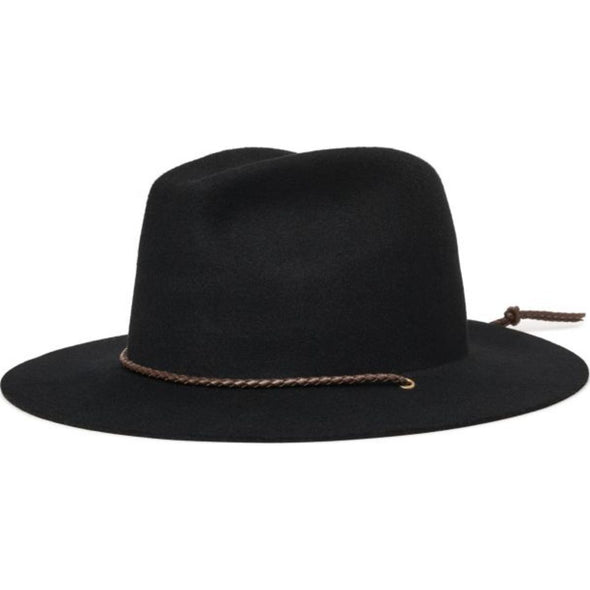 FREEPORT FEDORA - BLACK