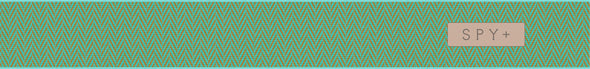 Bravo Herringbone Mint-Happy Gray Green w/Silver Spectra+Happy Yellow w/Lucid Green