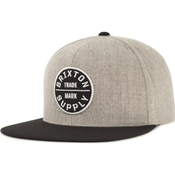 Oath III Snapback - Heather Grey/Black