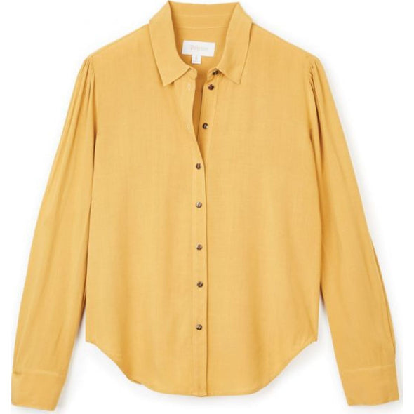 KATE L/S WOVEN - MAIZE
