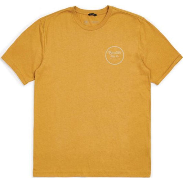 WHEELER II S/S PREMIUM TEE - MAIZE