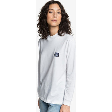 Quiksilver Womens Long Sleeve Mock Neck T-Shirt