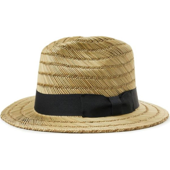 Rollins Fedora - Tan/Black