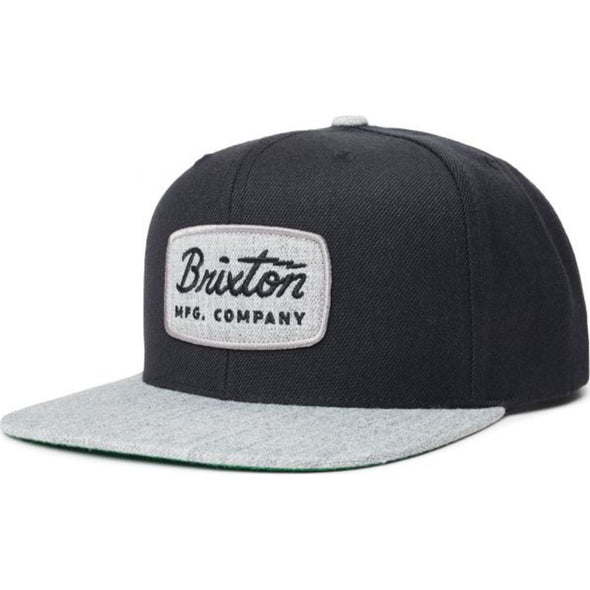 Jolt Snapback - Heather Grey/Washed Navy