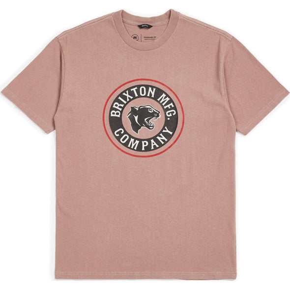 Forte S/S Standard Tee - White/Brown