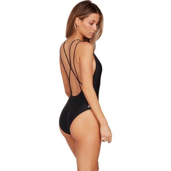 SIMPLY SOLID ONE PIECE - BLACK