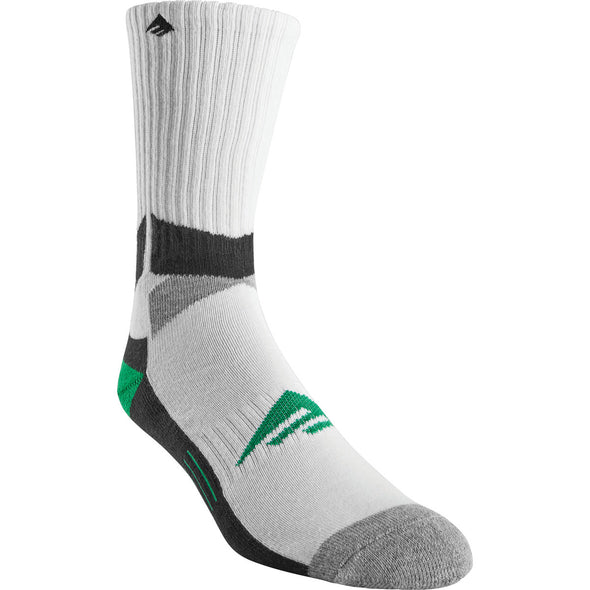 EMERICA ASI TECH SOCK WHITE