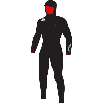 RB2 Mens 5/4/3 Hooded Fullsuit