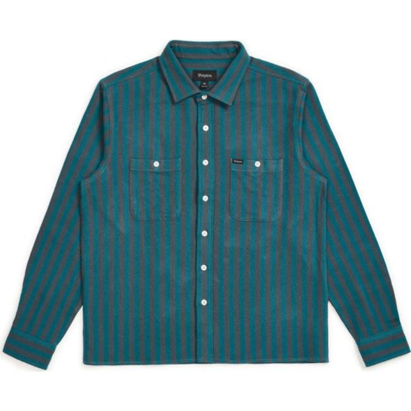 REYNOLD L/S FLANNEL - ATLANTIC BLUE