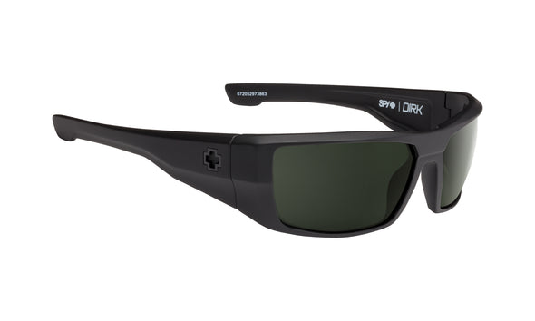 Dirk Soft Matte Black - HD Plus Gray Green Polar