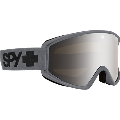 Crusher Elite Matte Gray - HD Bronze with Silver Spectra Mirror