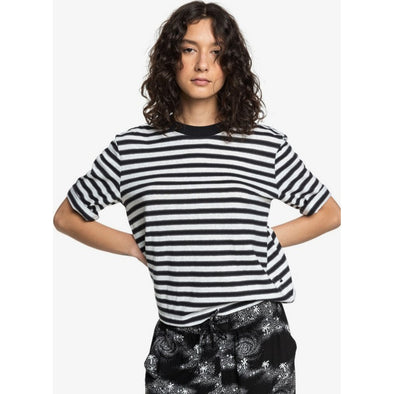 Quiksilver Womens Loose Mid-Sleeve T-Shirt