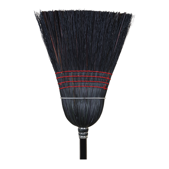 Broom - Heavy Duty Black Janitor