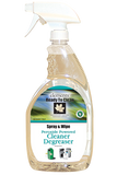 Peroxide Powered Spray & wipe Cleaner/Degreaser. (ECO FRIENDLY) 32oz.