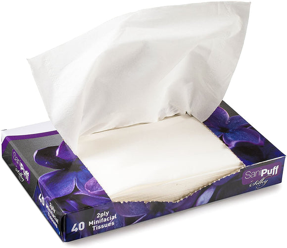Mini Facial Tissue 1PLY 200X40 Sheets.