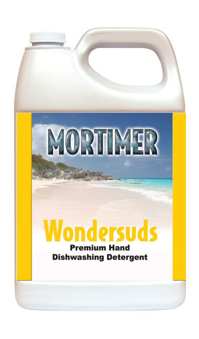 Wondersuds Premium Concentrated Dishwashing Detergent.