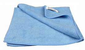 Microfiber Cloths BLUE (6 Pack)