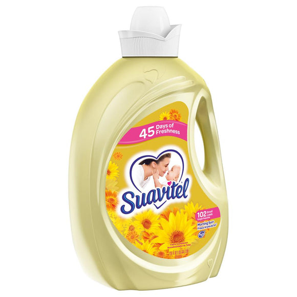 Suavitel Morning Sun Fabric Softener 135oz.