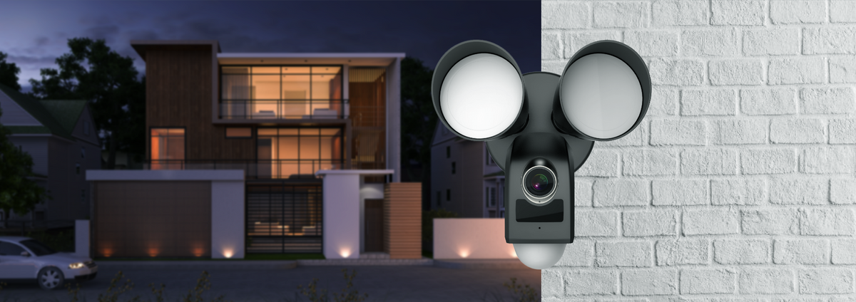 Our smart security light camera is your excellent guard at the Starlight level with its dual-lamp intelligent lighting.