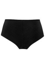 Load image into Gallery viewer, Marlies Dekkers Gloria Black Pinstripe 12cm Matching Brazilian Shorts