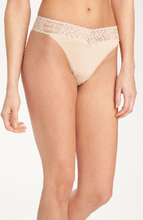 Load image into Gallery viewer, Hanky Panky O/S High Rise Logo Modal Thong