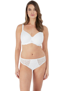 Fantasie Black + White Ana Moulded Spacer Side Support Full Cup Underwire Bra