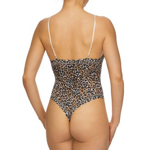 Load image into Gallery viewer, Hanky Panky Classic Leopard Lace Thong Bodysuit