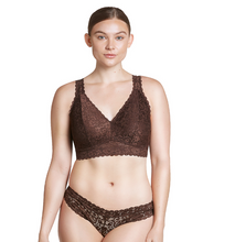 Load image into Gallery viewer, Parfait Adriana Bra Sized Lace Non-Underwire J-Hook Deep Nude Bralette