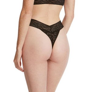 Hanky Panky New Zebra Lace Original/High Rise Thong
