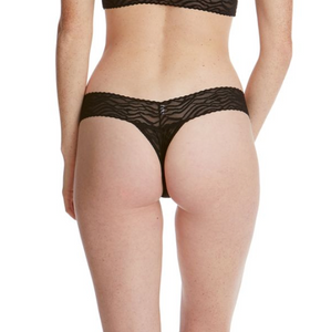 Hanky Panky O/S Low Rise Signature Lace Thong Prints