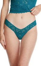 Load image into Gallery viewer, Hanky Panky O/S Low Rise Signature Lace Thong Solid Colors