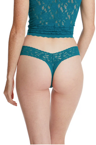 Hanky Panky O/S Low Rise Signature Lace Thong Solid Colors