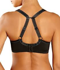Chantelle High Impact Padded Racerback Underwired Sports Bra
