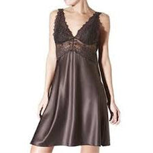 Load image into Gallery viewer, Janira Glamour Charm Greta Lace + Satin Support Nightgown