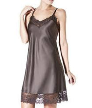 Load image into Gallery viewer, Janira Midi Charm Greta Lace + Satin Chemise