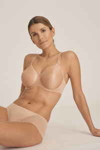 Prima Donna Every Woman Seamless Non-Padded Racerback Convertible Underwire Bra Light Colours