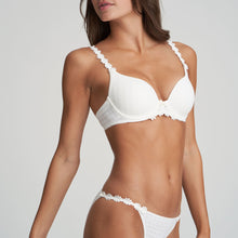 Load image into Gallery viewer, Marie Jo Avero Sweetheart Convertible Straps Underwire Bra Natural Ivory + White + Pineapple