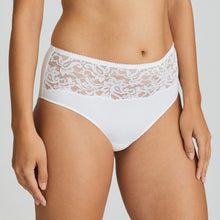 Load image into Gallery viewer, Prima Donna SS21 Light Tan + White Magnolia Matching Full Briefs