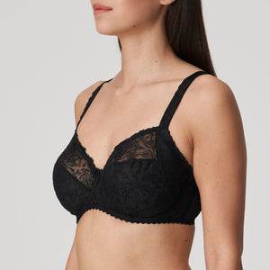 Prima Donna Alara Black FW2020 Full Cup Seamed Unlined Underwire Bra