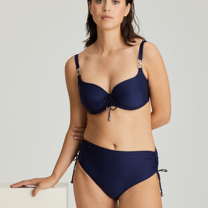 Prima Donna Swim SS21 Smoking + Sapphire Blue Sherry Unlined Full Cup Underwire Bikini Top