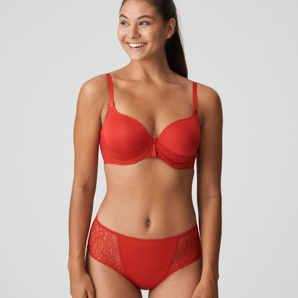 Prima Donna Twist (Scarlet Red) I Do Moulded Heart Shape Underwire Bra