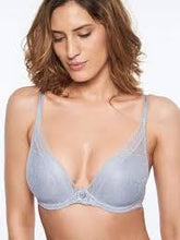 Load image into Gallery viewer, Chantelle Festivite Lace Foam Plunge Underwire Bra