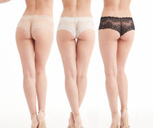 Load image into Gallery viewer, Montelle Cheekies Floral Seamless Lace Underwear