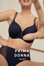 Load image into Gallery viewer, Prima Donna Twist East End FW2020 Majestic Blue Moulded Heart Shape Underwire Bra